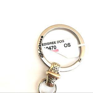 Brighton Accessories - Brighton Keychain I Love My Dog Photo Charm Silver